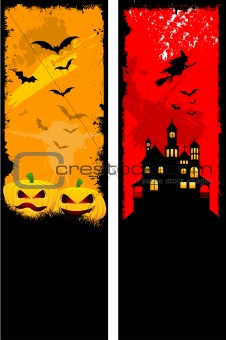 Grunge Halloween backgrounds