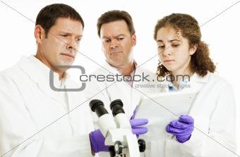 Scientists - Strange Test Results