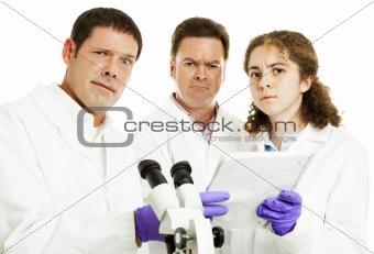 Team of Scientists Perplexed
