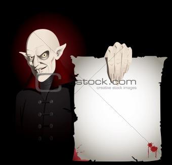 Vampire Invitation