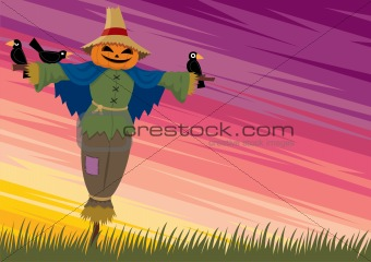 Scarecrow Background 2