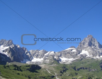 Alps mountains