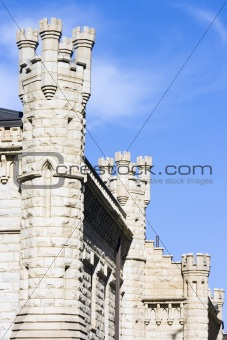 Water Tower building in Chicago