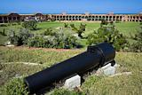 Cannon seen in Dry Tortugas