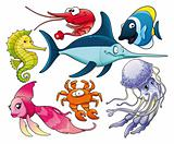 Marine life.