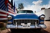 Route 66 american car