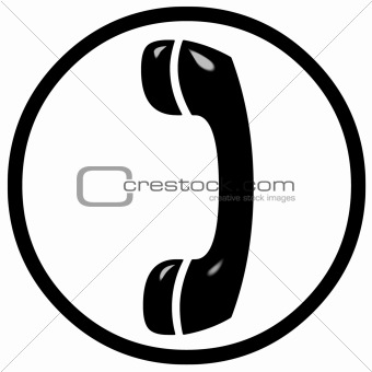 3D Telephone Sign