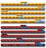 Gold Timeline Chart Set