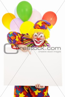 Circus Clown - Message