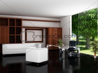 Modern interior of an office