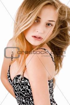 Portrait of beautiful young women posing