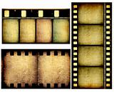 Movie film strips