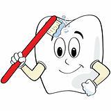 Tooth brushing itself