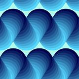 Seamless abstract swirl pattern