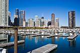 Chicago from marina