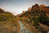 Sunset in Zion