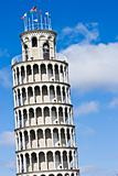 Leaning Tower replica