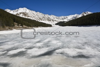 Lake in Rockies
