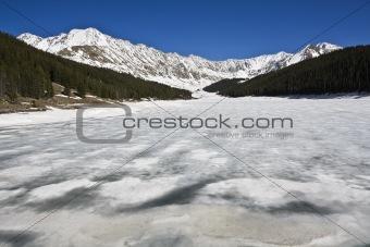 Lake in Rockies