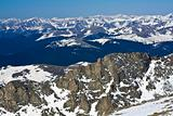 Panorama from Mt Evans