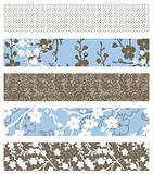 Vector Set of Floral Patterns