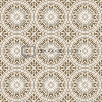 Vector Seamless Tile Pattern
