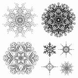 Vector Decorative Ornament Set
