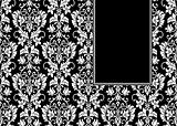 Vector Banner Frame and Pattern
