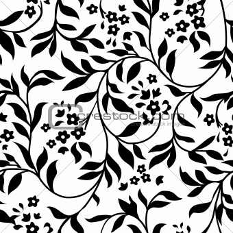 Vector Ivy Pattern