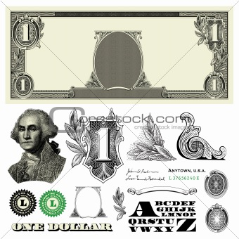 Vector Miscellaneous Monetary Ornaments 