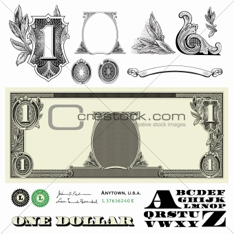 Vector Miscellaneous Money Ornaments