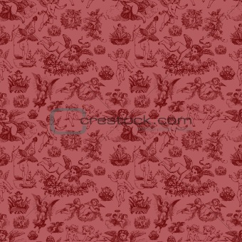 Vector Cupid Pattern