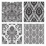 Vector Set of Damask Patterns