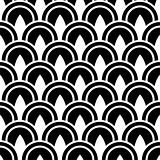 Vector White Circle Pattern