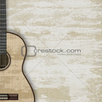 abstract musical background guitar