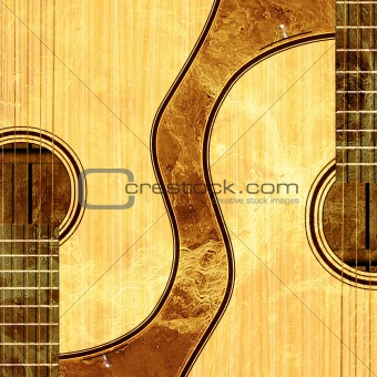 abstract musical background guitars