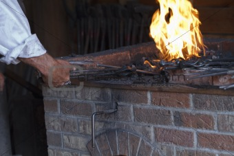 Blacksmith at the Hearth