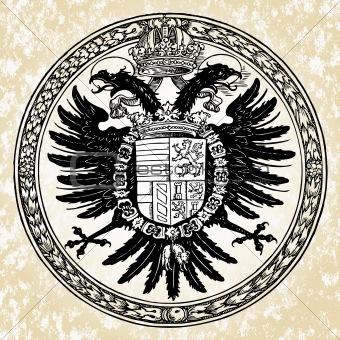 Vector Eagle Seal