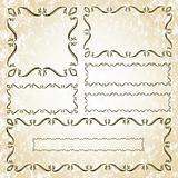 Vector Decorative Frame Set