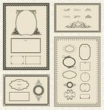 Vector Frame and Ornament Set