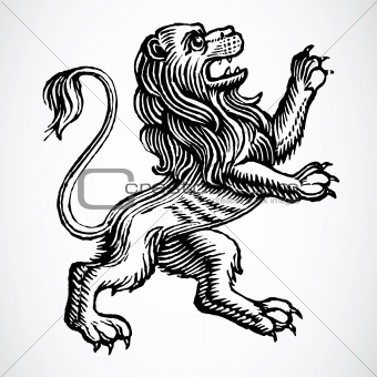 Vector Gothic Lion