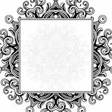 Vector Background Ornament Frame