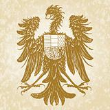 Vector Eagle Crest Illustration