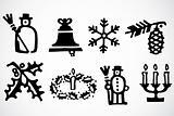 Vector Christmas Ornaments