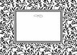 Vector Ivy and Blossom Frame