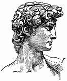 Vector Michelangelo's David