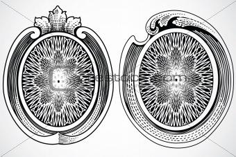 Vector Decorative Frame Elements