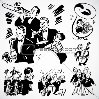 Vector Vintage Band and Orchestra