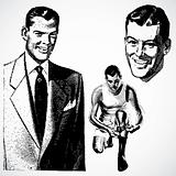 Vector Vintage Businessmen