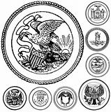Vector Vintage Seals Set